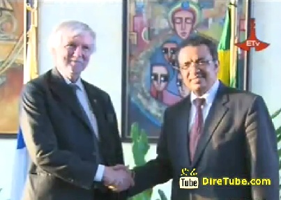 Finnish Officials Exchange Views with Ethiopian Foreign Minister