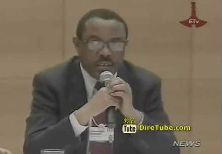 Premier Hailemariam Int'l Companies Lured to Invest in Africa