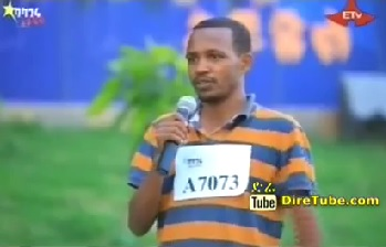 Takle Wekamo Vocal Contestant Hawassa City