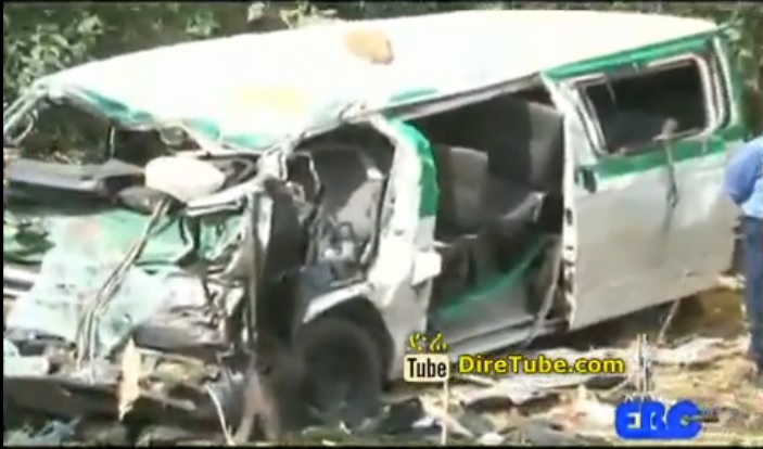 5 dead in two vehicle crash around Bahir Dar
