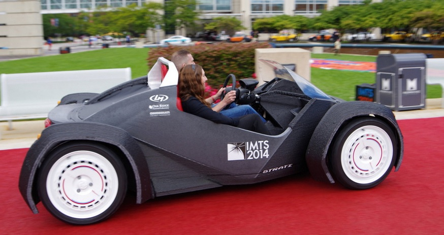 The First 3D Printed Car Took Years to Design