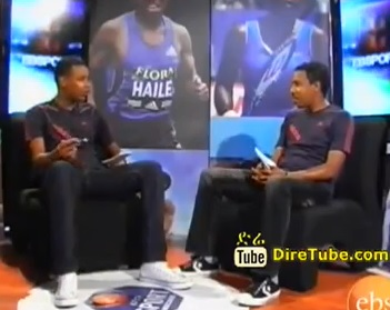 EBS Sport - Encouragement Prize for Ethiopian National Football Team and Athletes Part - 1