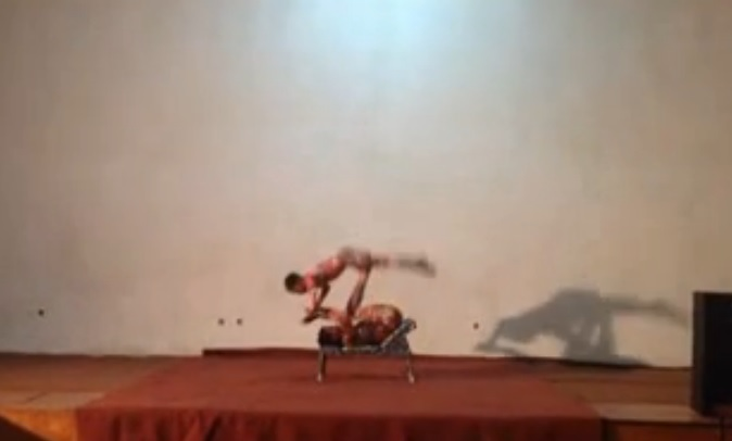 Talented Kid - Icarian Games Act  - Zion Circus in Ethiopia