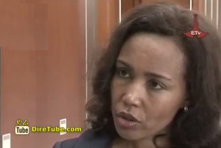 Ethiopia's First Lady Azeb Mesfin on HIV Related issue @AU Summit
