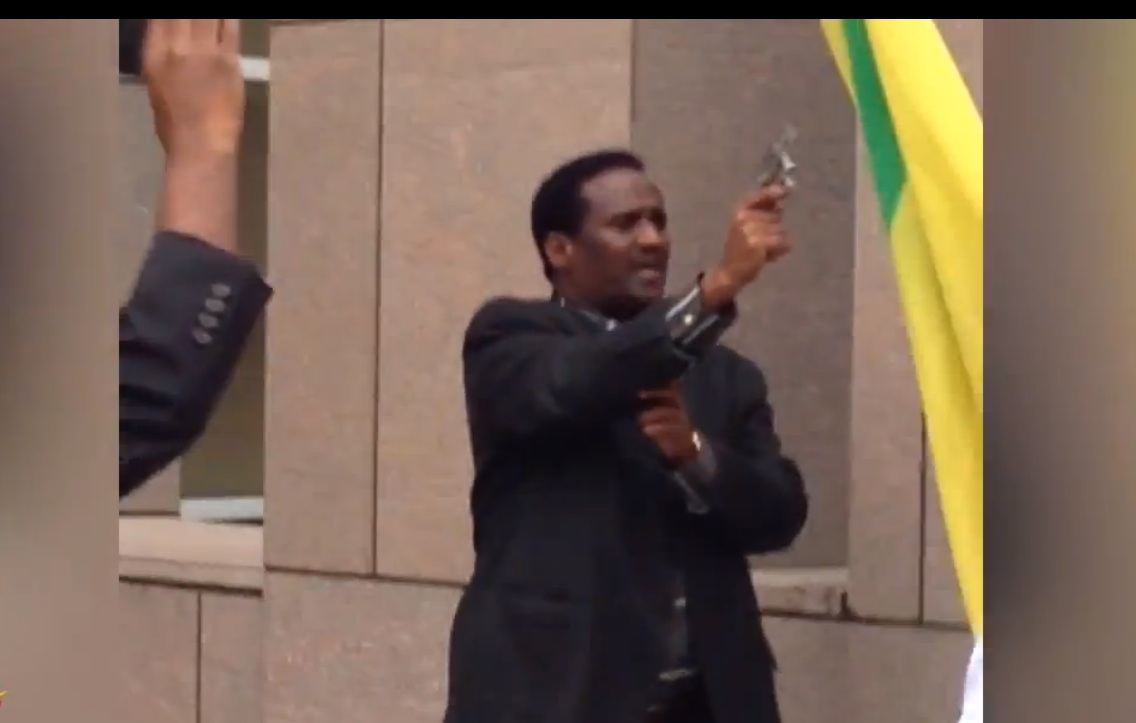 Today at the Embassy of Ethiopia in Washington DC
