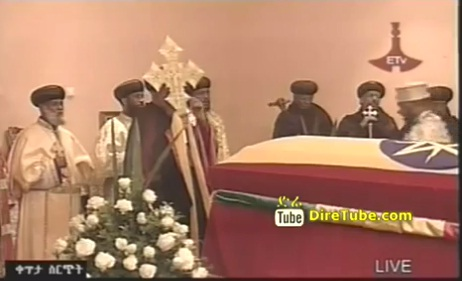 Meles Funeral - Prayer for the Late PM at the Grand National Palace - Part 1