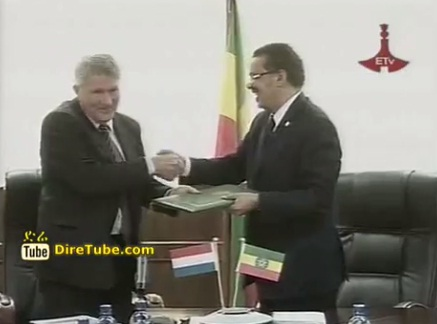 Ministry Dutch Gov't sign 43 MLN birr Grant Agreement