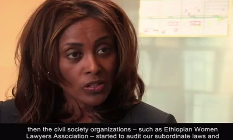 Why Ethiopia was able to amend it's family law -  Meaza Ashenafi