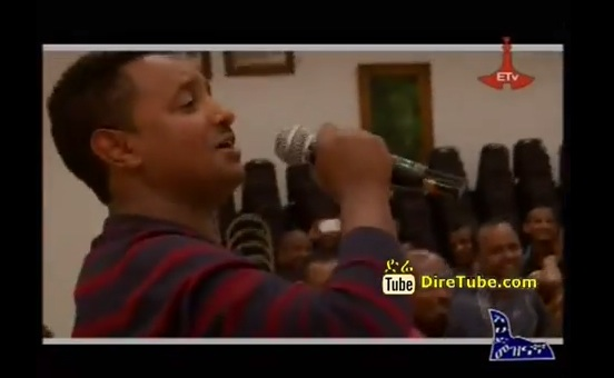 Tadele Roba and Teddy Afro Sing for Team Ethiopia