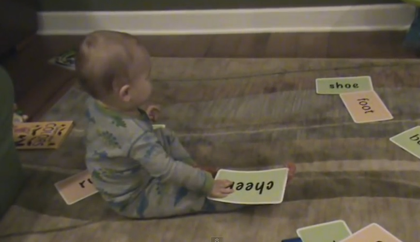 Genius 16-Month-Old Baby - He Can Read Words