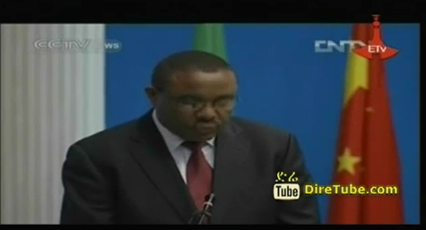 Ethiopian PM Speaks on China and Africa Relation
