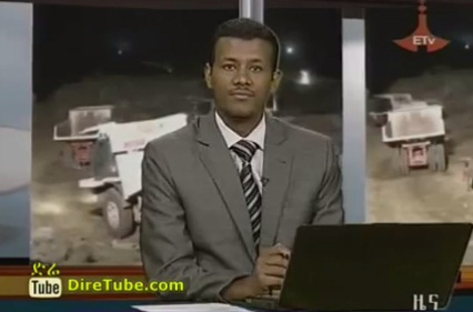 ETV 1PM Full Amharic News - Apr 8, 2012