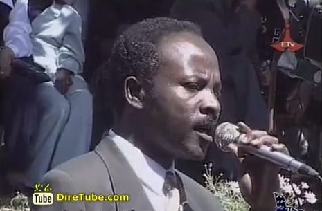 Artist Abebe Temtim (Qelemu of Gemena2) Singing a Song