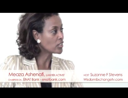 Meaza Ashenafi Chairperson ENAT Bank, Lawyer, Women's Rights Activist