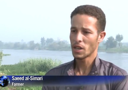 Egypt Farmers fear water Supply Threat from Ethiopia Dam