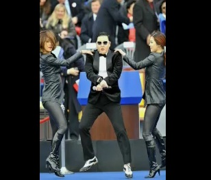 Psy Impostor Gatecrashes in France and Yegna Style by Biniam Dana