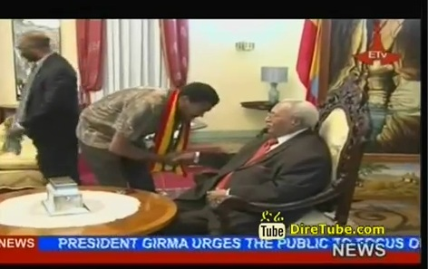 Pres. Girma Urges The Public to Focus on Conservations of Trees