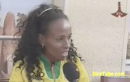 London 2012 - Heroes welcome for Ethiopian Team in Addis Ababa Stadium - Part 2