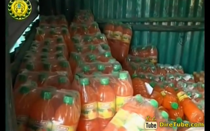 Sebeta Police Caught food Adulterates Red Handed