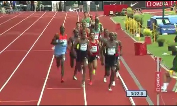 Ethiopian Youngster Mekkonen Gebremedhin Finishes 2nd at 2012 Diamond League