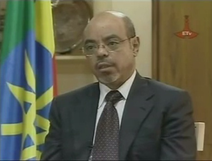 Prime Minister Meles Zenawi Responded to Public Question about the Dam - 1