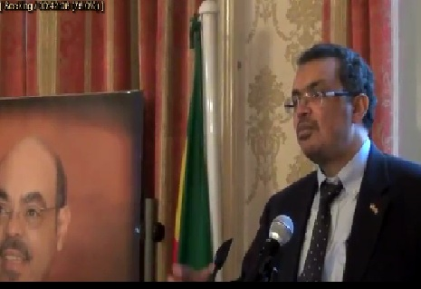 Dr.Tedros Adhanom, Ethiopian Foreign Minister First Working Visit to The UK