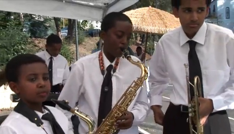 ZeeSunset - Young Ethio Jazz Band performing in Oakland, CA USA