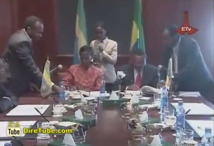 News in English - Ethiopia, Rwanda sign cooperation agreement