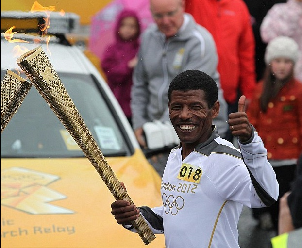 Ethiopian Haile Gebrselassie to carry Olympic torch