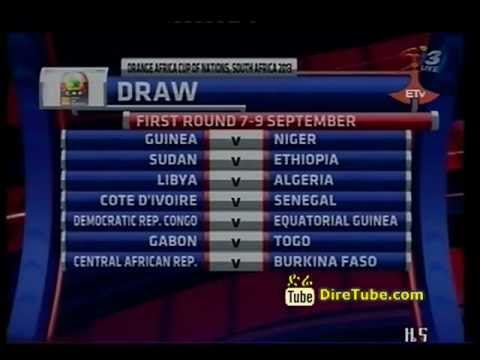 Ethiopia will play Sudan for the 2013 Africa Cup of Nations spot in South Africa