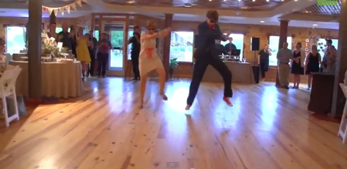 Mother and Son Perform Epic Wedding Dance