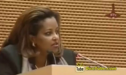 Ethiopian News - Dr. Eleni and other scholars Speak to Female Students in Addis