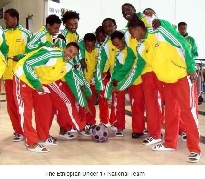 Ethiopia's Under-17s Team beats Tunisia 3 - 0