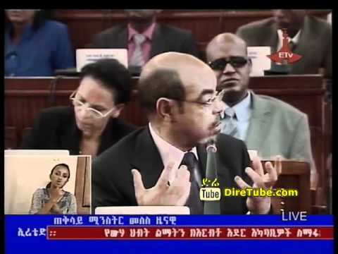 PM Meles Zenawi Responded to Amhara being moved out of Benchi Maji