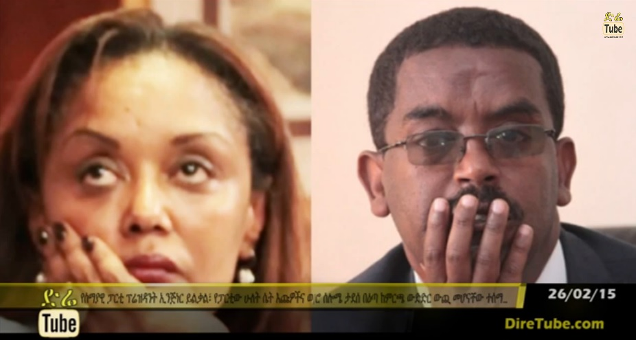 Solome Tadesse and Eng. Yilikal Getinet Cancelled from Candidacy