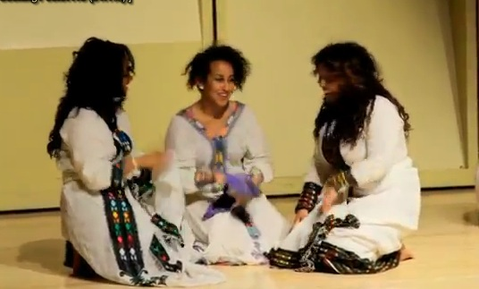 Ethiopian Dance at University of Washington UW Afro - Caribbean Night