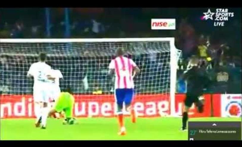 Ethiopian Fikru Tefera Amazing Goal at Indian Super League