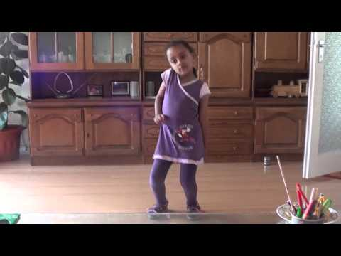 Ethiopian Little Girl Dancing to Single Ladies