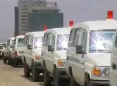 Ethiopian Ministry of Health Distribute 310 Ambulance for Woredas