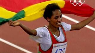 Ethiopian Derertu Tulu, Icon of the Olympic movement - Barcelona 1992