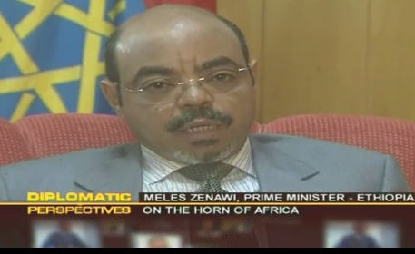 KTN Kenya - Exclusive Interview with Meles Zenawi - Diplomatic Perspectives