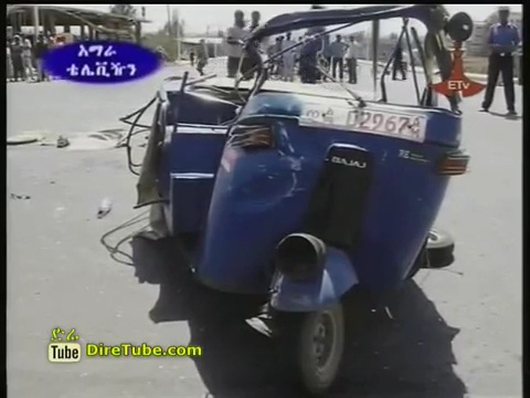 Honorific Bajaj Accident in Amhara Region