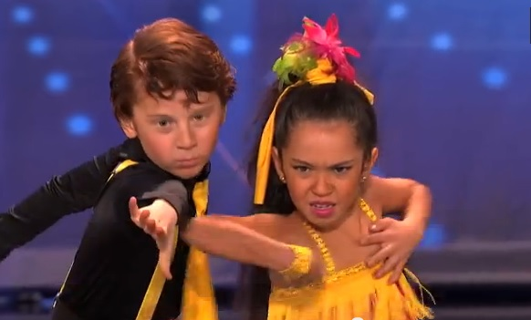 Yasha & Daniela - Amazing Kid Dancers - America's Got Talent 2013