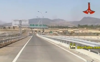 The Addis Adama Modern Express way is to be Open for Traffic in two Month