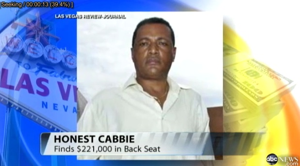 Honest Ethiopian Cup Driver Returns lost $221K