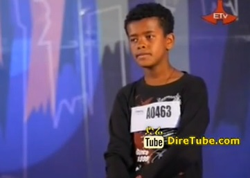 Nathnael Tesfaye Vocal Contestant 2nd Round Addis Ababa