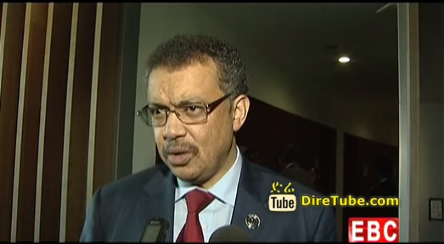 The Latest Amharic Evening News From EBC Jan 31, 2015