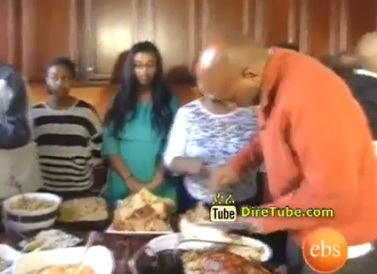 Thanks Giving Day with Ethiopian Family in America