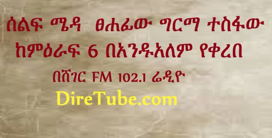 SelfMeda (ሰልፍ ሜዳ) Andualem Tesfaye Narrated From Girma Tsefaw's New Book