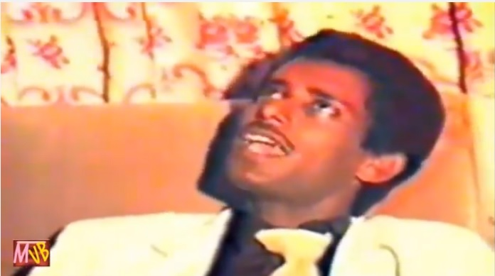Tamagne Beyene show on ETV in 1979